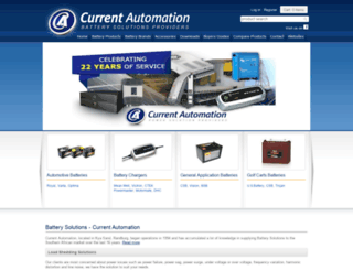 batterysolutions.co.za screenshot