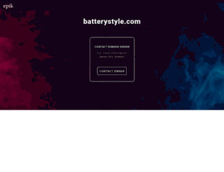 batterystyle.com screenshot