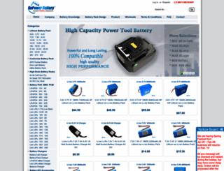 batterysupports.com screenshot