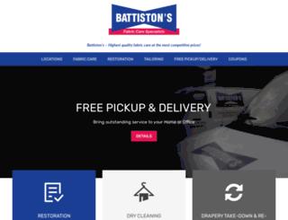 battiston.com screenshot