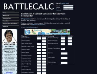 battlecalc.com screenshot