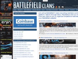 battlefield-clans.com screenshot