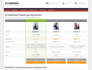 battlefield-company.de screenshot
