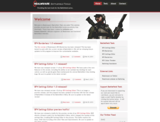 battlefield.realmware.co.uk screenshot