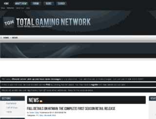 battlefield.totalgamingnetwork.com screenshot