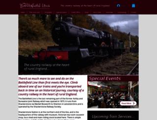 battlefieldline.co.uk screenshot