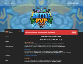 battlemcpvp.buycraft.net screenshot