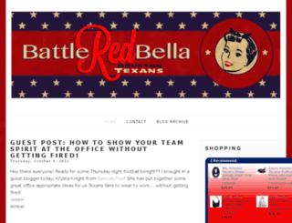battleredbella.com screenshot