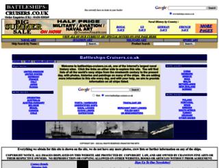 battleships-cruisers.co.uk screenshot