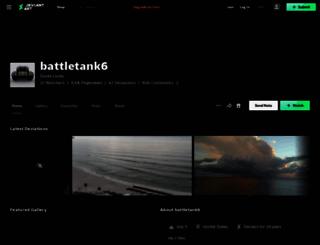 battletank6.deviantart.com screenshot