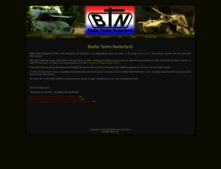 battletanksnederland.nl screenshot