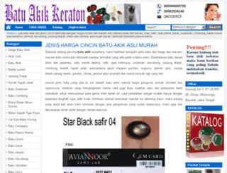 batuakikkeraton.co.id screenshot