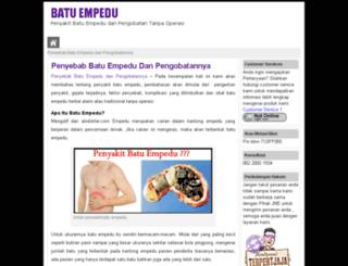 batuempedu.segeraobati.com screenshot