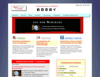 baubiologie-regional.de screenshot