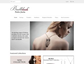 baublebeads.com screenshot