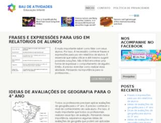 baudeatividades.com screenshot