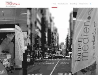bauer-digitaldruck.ch screenshot