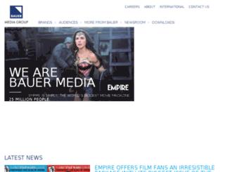 bauer.co.uk screenshot