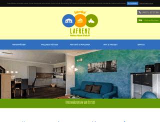 bauernhof-lafrenz.de screenshot