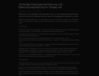 bauernkueche.twoday.net screenshot