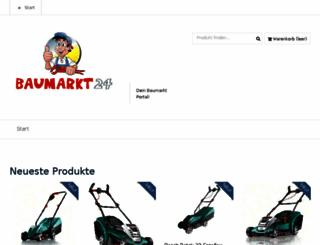 baumarkt24.org screenshot