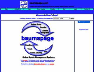 baumspage.com screenshot