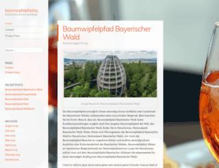 baumwipfelpfad.by screenshot