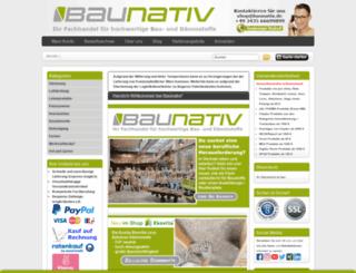 baunativ.de screenshot