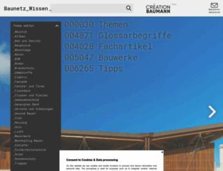 baunetzwissen.de screenshot