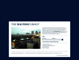 baupost.com screenshot