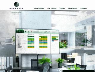 bauradar.de screenshot