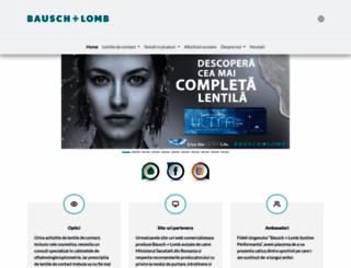 bausch.ro screenshot