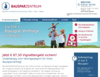 bausparklick.at screenshot