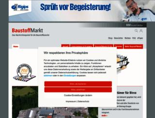baustoffmarkt-online.de screenshot