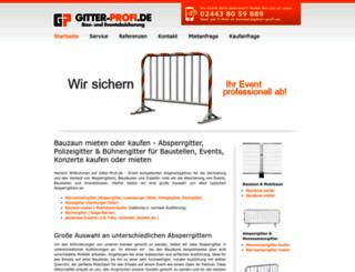 bauzaun.net screenshot