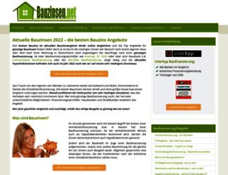 bauzinsen.net screenshot