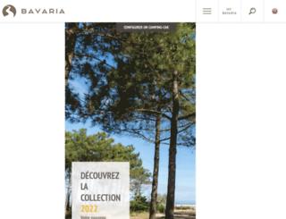 bavaria-camping-car.com screenshot