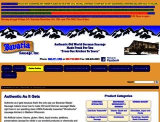 bavariasausage.com screenshot