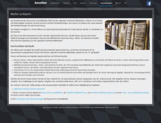 bavarica.digitale-sammlungen.de screenshot