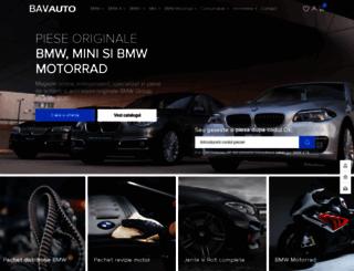 bavauto.ro screenshot