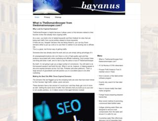 bayanus.com screenshot