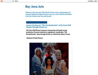 bayareaarts.blogspot.in screenshot