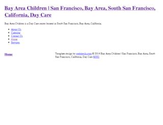 bayareachildrensf.com screenshot