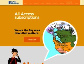 bayareanewsaccess.com screenshot
