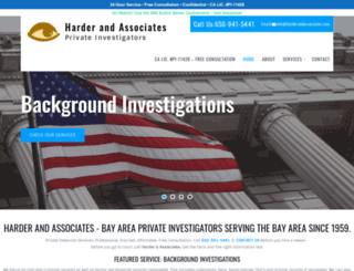 bayareaprivateinvestigator.com screenshot