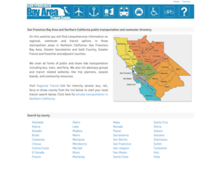 bayareatransit.net screenshot
