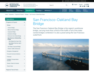 baybridgeinfo.org screenshot