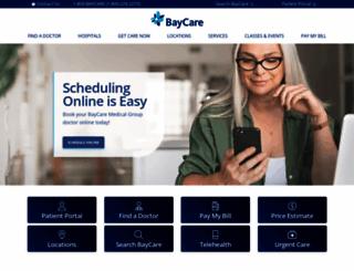 baycare.org screenshot