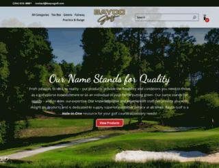 baycogolf.com screenshot