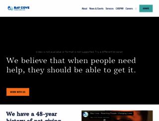 baycove.org screenshot